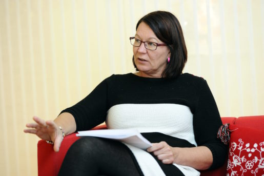 Kommunals avtalssekreterare Lenita Granlund. Foto: Henrik Montgomery / SCANPIX Kod: 10060