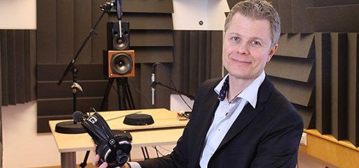 När Limes Audio började anställa folk tecknade företaget kollektivavtal. Det är så det fungerar på svensk arbetsmarknad, säger Fredric Lindström, företagets grundare.Foto: Infotech Umeå