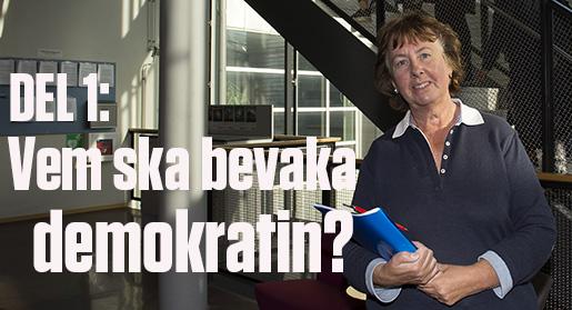 STOCKHOLM 20151005 : Medieforskaren Kajsa AlthÈn, Sˆdertˆrns hˆgskola. Till Arbetet. Foto: Maja Suslin / TT / Kod 10300