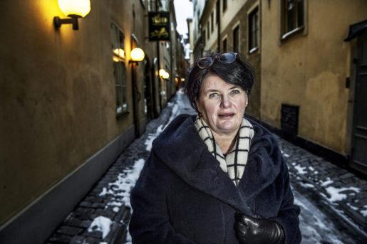 STOCKHOLM 2015-02-03 Heike Erkers, ordfˆrande Akademikerfˆrbundet SSR Foto: Tomas Oneborg / SvD / TT / Kod 30142 ** OUT DN och Dagens Industri (‰ven arkiv) och Metro **