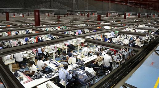 Omkring 80 000 arbetar i textilindustrin i Kenya. Foto: Estrella de la Reguera