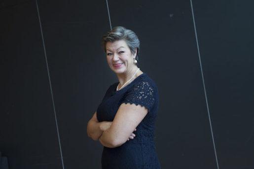 STOCKHOLM: 20151106 Arbetsmarknadsminister Ylva Johansson fˆr tidningen Arbetet Foto: Stina Gullander/ TT / KOD 1310