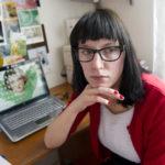 Emelie Holmquists blogginlägg om sin svårt sjuka mamma Annica som blivit utförsäkrad väckte uppmärksamhet i valspurten.Foto: Fredrik Sandberg