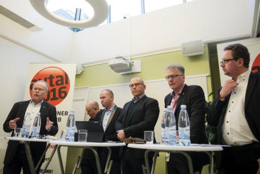 STOCKHOLM 20151216 Fackfˆrbunden inom 6 f har tidigarelagt sina lˆnebud och presenterar dem pexpresstr‰ff ponsdagen. Foto: Vilhelm Stokstad / TT / Kod 11370