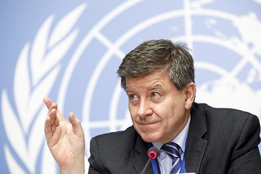 ILO-chefen Guy Ryder. Foto: Salvatore Di Nolfi/AP