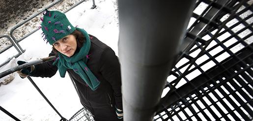 "STOCKHOLM 2010-01-21 Susanna Alakoski, fˆrfattare, aktuell med sin andra bok ""HÂpas du trifs bra i fengelset"". Foto: Dan Hansson / SvD / SCANPIX / Kod 30062 ** OUT DN (‰ven arkiv) **"