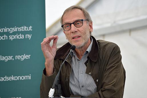 VISBY 2014-06-30 Claes StrÂth, generaldirektˆr Medlingsinstitutet talar under ett seminarium i Visby under Almedalsveckan. Foto: Henrik Montgomery / TT / kod: 10060