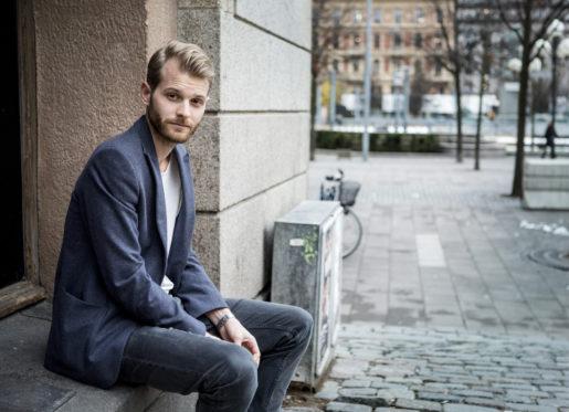 """STOCKHOLM 20151116 Regissˆren Magnus von Horn debuterar med filmen """"Efterskalv"""" Foto: Christine Olsson / TT / Kod 10430"""