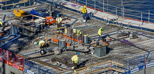 STOCKHOLM 2015-09-29 Skanska bygger l‰genheter vid Hammarby kaj Foto: Lars Pehrson / SvD / TT / Kod: 30152 ** OUT DN och Dagens Industri (‰ven arkiv) och Metro** *