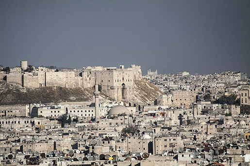 Aleppo är Syriens största stad. Foto: AP Photo/Narciso Contreras