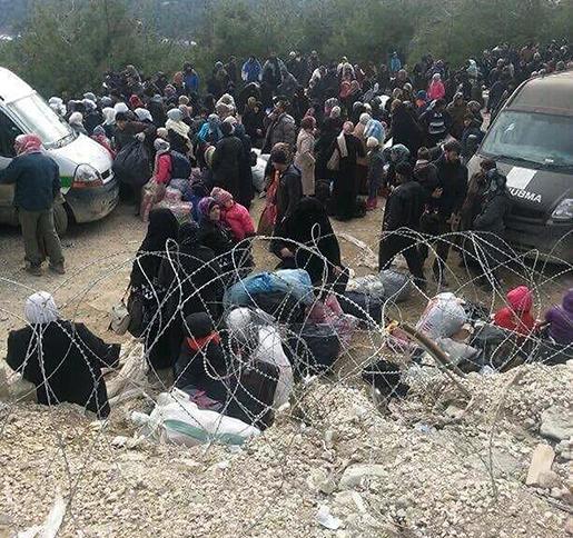 Gränsövergången i Bab al-Salam. Foto: Depo Photos via AP