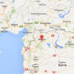 Klicka på kartan för att se var Aleppo ligger.