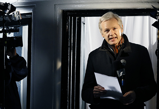 Julian Assange. Foto: AP Photo/Kirsty Wigglesworth