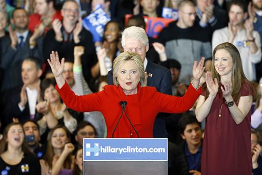 Hillary Clinton. Foto: AP Photo/Patrick Semansky