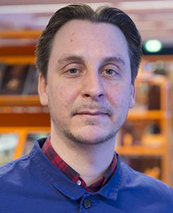 Peter Björkman. Foto: Fredrik Sandberg