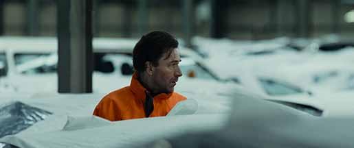 Anders Mossling spelar författaren som daglönar i hamnen i filmen Yarden, baserad på Kristian Lundbergs bok. Foto: Ita zbroniec zajt