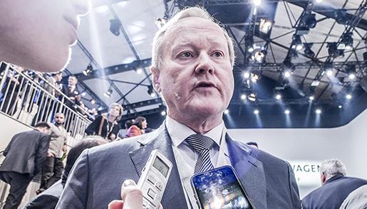 GEN»VE 2015-03-02 Leif ÷stling, svensk fˆretagsledare pplats pbilsalongen i GenËve Foto: Magnus Hjalmarson Neideman / SvD / TT / Kod 10078 ** OUT DN och Dagens Industri (‰ven arkiv) och Metro **