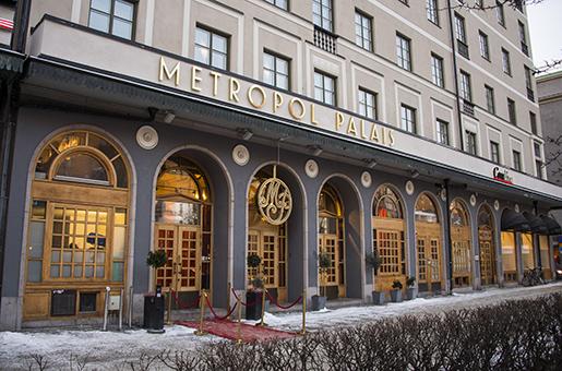 STOCKHOLM 20160114 Exteriˆrbild Kommunals restaurang och konferensanl‰ggning Metropol Palais pSveav‰gen i Stockholm. Foto: Marcus Ericsson / TT / Kod 11470