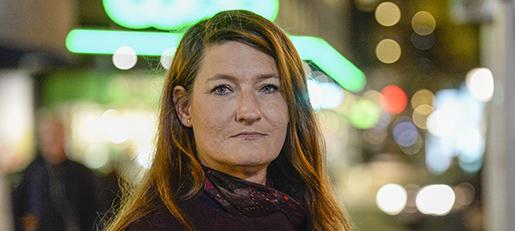 STOCKHOLM 20131118 Handelsanst‰lldas fˆrbunds vice ordfˆrande Susanna Gideonsson om korta, tillf‰lliga, os‰kra anst‰llningar i handeln. Foto: Leif R Jansson / TT / Kod 10020