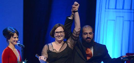 Jessica Schiefauer fick Augustpriset för andra gången i höstas.Foto: Maja Suslin/TT