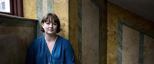 """STOCKHOLM 2015012 Fˆrfattaren Jessica Schiefauer har skrivit en ny bok som heter """"N‰r hundarna kommer"""" Foto: Christine Olsson / TT / Kod 10430"""