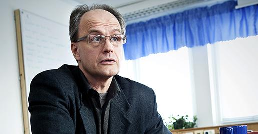 NORRK÷PING 20110221 Henrik Lund, ordfˆrande fˆr SALO, Sveriges arbetslˆsas landsorganisation i Norrkˆping. . Foto: Stefan JerrevÂng / SCANPIX / Kod 60160