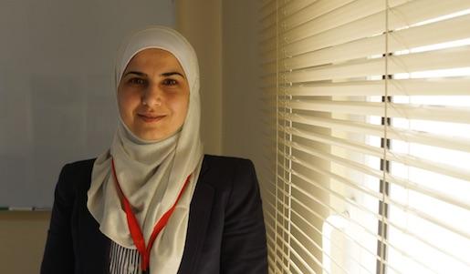 – Kontantstöd är den bästa lösningen nu, säger Sawsan Abu Rassa på Röda Korset.