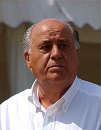 Amancio Ortega. Foto: AP