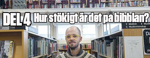 Stockholm20160216 Bibliotekarie Einar Ehn fotograferad pV‰llingby bibliotek. Foto: Fredrik Sandberg / TT / Kod 10080