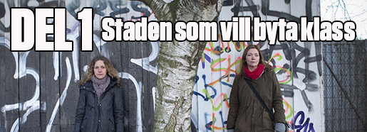 """2016-01-12 G÷TEBORG Catharina Thˆrn och Katarina Despotovic har skrivit och fotograferat """"Den urbana fronten"""". En dokumentation ˆver makten ˆver staden. FOTO Bjˆrn Larsson Rosvall / TT / Kod 9200"""