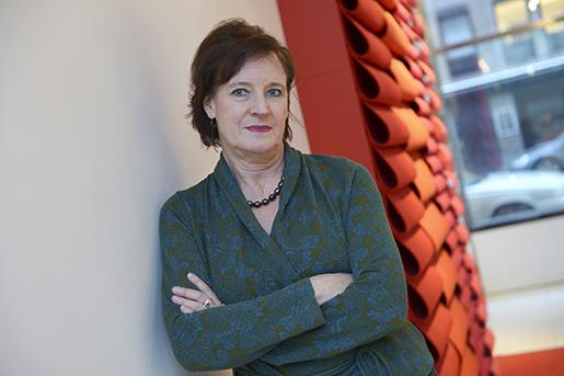 Konfliktrisken är stor för Kommunal och ordföranden Annelie Norström. Foto: Fredrik Sandberg