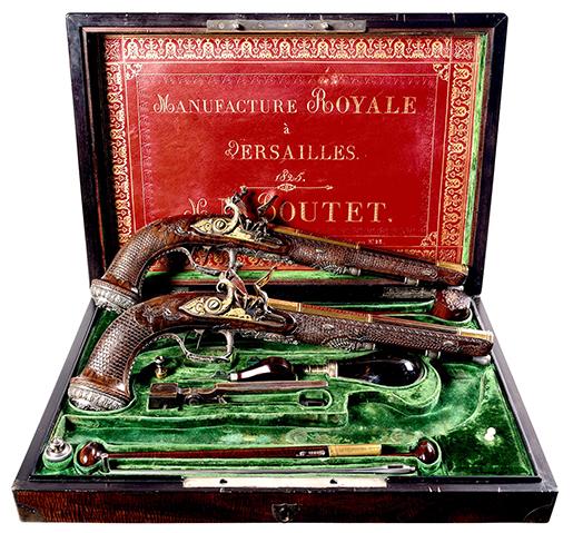 Simon Bolivars pistoler är inte gratis. Foto: Christie's via AP