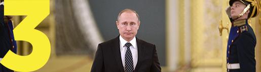 Rysslands president Vladimir Putin. Foto: AP