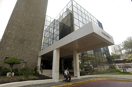 Juristfirman Mossack Fonsecas kontor i Panama City. Foto: AP Photo/Arnulfo Franco