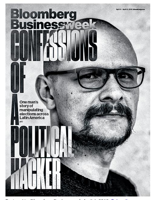 Förstasidan i Bloomberg Bussinessweek. Foto: Skärmdump