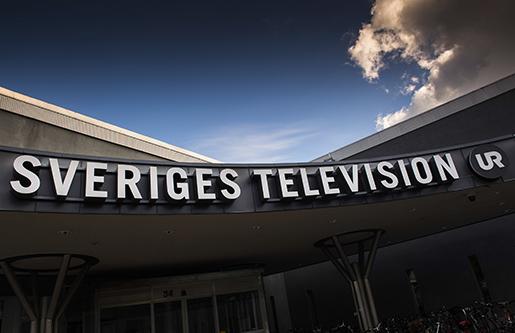 STOCKHOLM 2014-09-16 Exteriˆr Sveriges television, som har utsett Hanna Stj‰rne till ny vd. Foto: Jonas Ekstrˆmer / TT / kod: 10030
