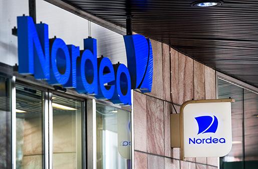 STOCKHOLM 2016-04-04 Nordeas huvudkontor pHamngatan i Stockholm. Foto: Marcus Ericsson / TT / Kod 11470
