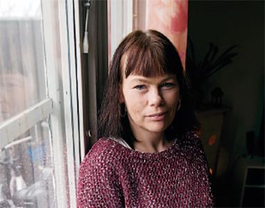 Jenny Lestar - en av många som får vara standby för snabba behov. Foto: Henrik Witt