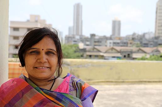 – Jag har hotat med hungerstrejk. Det fick arbetsgivaren att backa lite. - Sheela Naikwade