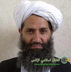 Talibanernas nya ledare, Haibatullah Akhundzada. Foto: AP