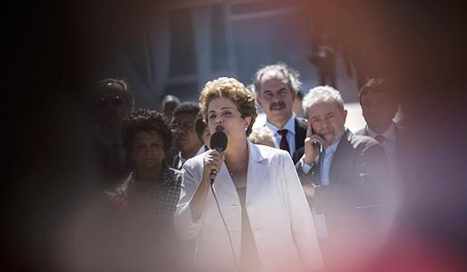 Dilma Rousseff. Foto: Felipe Dana-TT