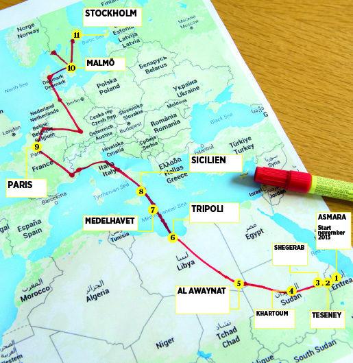 Globalkartaflykt