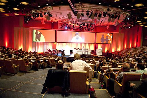 STOCKHOLM 20100608 ÷versikt ˆver Kommunals kongress i Folkets Hus i Stockholm. Foto Bertil Ericson / SCANPIX / kod 10000