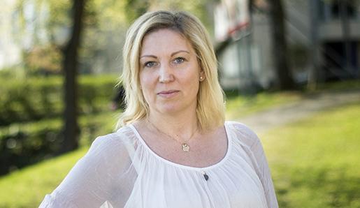 SOLLENTUNA 2015-05-08 L‰rarfˆrbundets ordfˆrande Johanna Jaara ≈strand Foto: Pontus Lundahl / TT / kod 10050