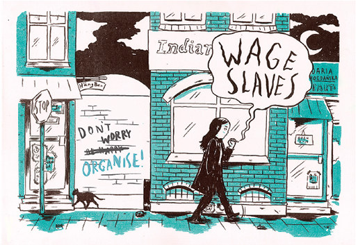 Wage Slaves: En memoar av en prekär migrantarbetare ges ut på Galago i sommar.