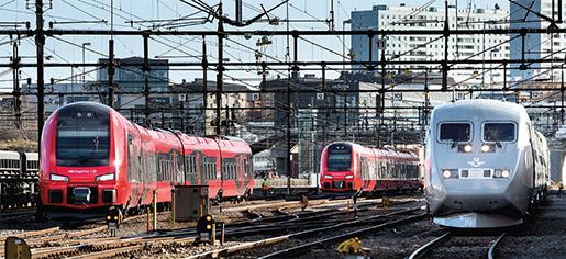 Aldrig har väl förutsättningarna för ett nytt järnvägslyft varit bättre, skriver Karin Svensson Smith. Foto: Pontus Lundahl