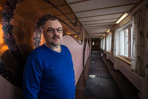 Kommunalrådet Harry Rantakyrö efterlyser handlingskraft från regeringen. Foto: Kim Kangas