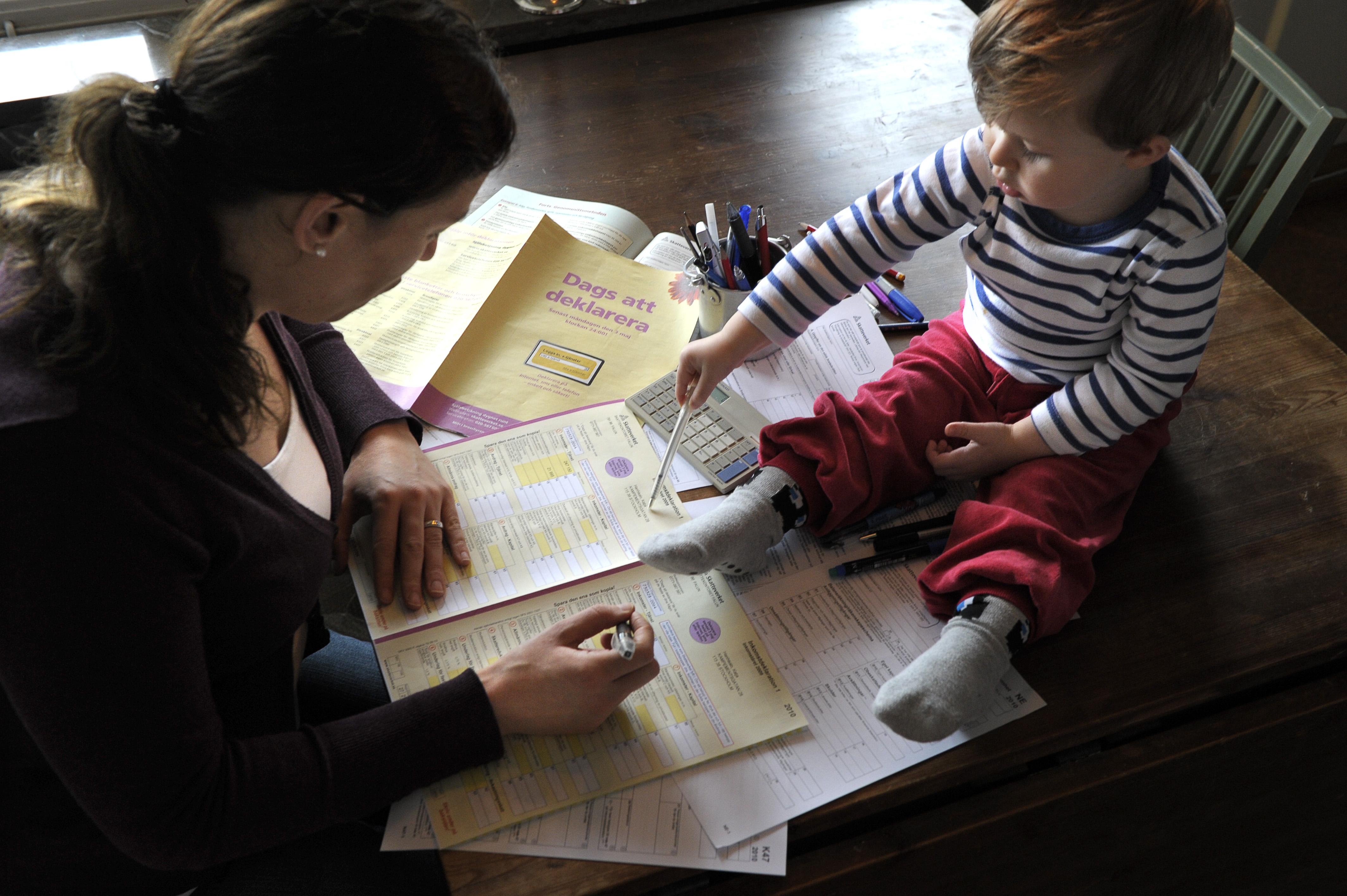Usa svenskar leder inkomstligan