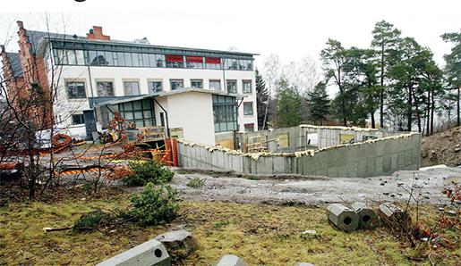Domen om det lettiska företaget Laval, som skulle bygga en skola i Vaxholm och försattes i blockad av Byggnads, blev ett bakslag för facken. Foto: Bertil Ericson/TT