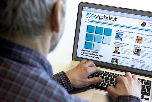 STOCKHOLM 20140326 Webbsajten och magasinet Avpixlat skaffar utgivningsbevis och ansvarig utgivare. Bilden ‰r arrangerad. Foto: Claudio Bresciani / TT / Kod 10090